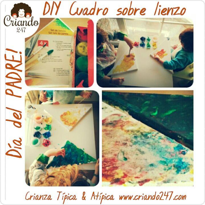 Criando247 DIY Cuadro sobre lienzo