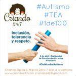 autismo tea 1de100 inclusion tolerancia y respeto