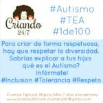 #Autismo : Día mundial de Concienciación