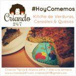 #RecetaFacil #HoyComemos Kitche de Verduras, Cereales & Queso