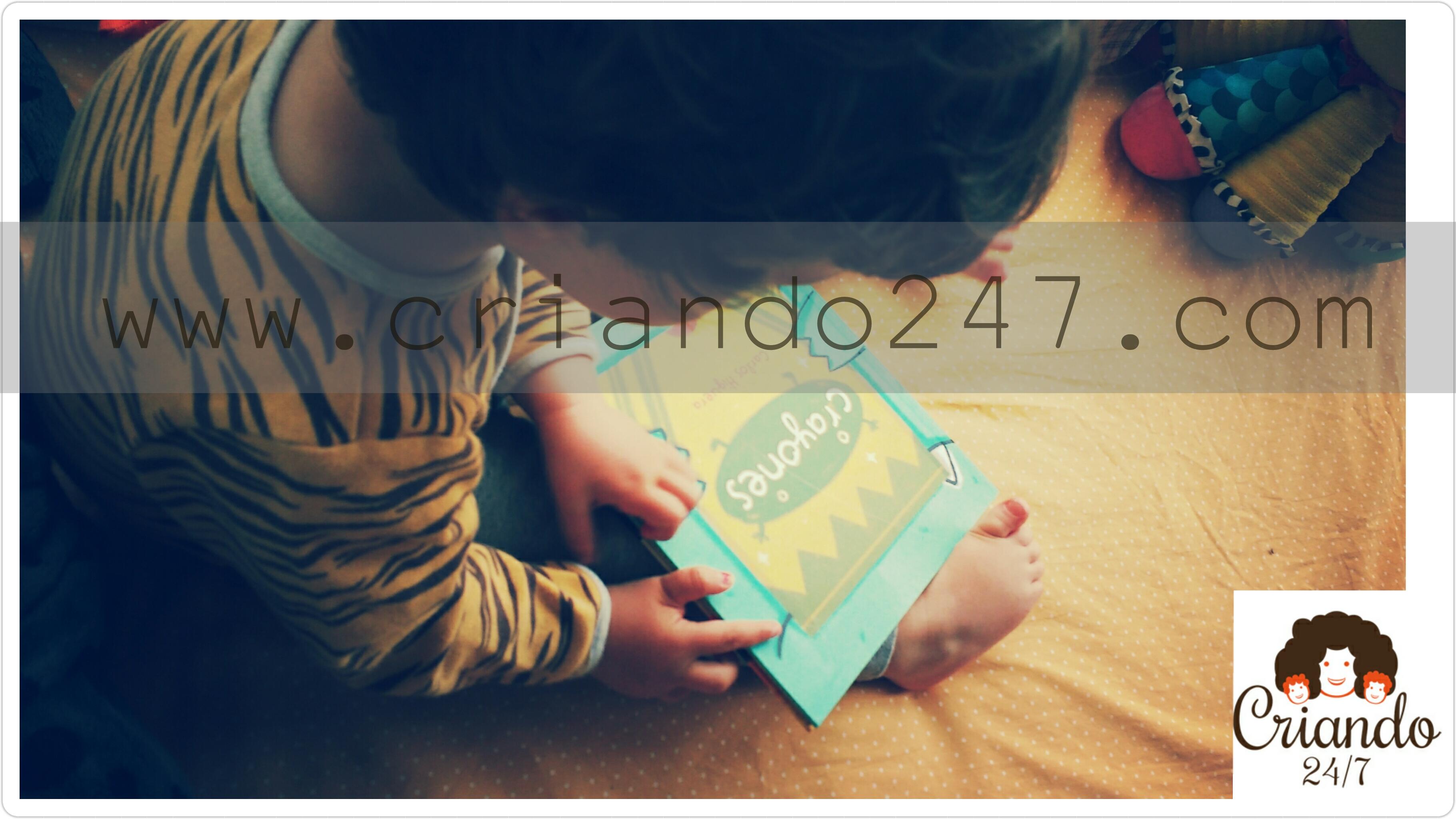 criando247 HoyLeemos Crayones