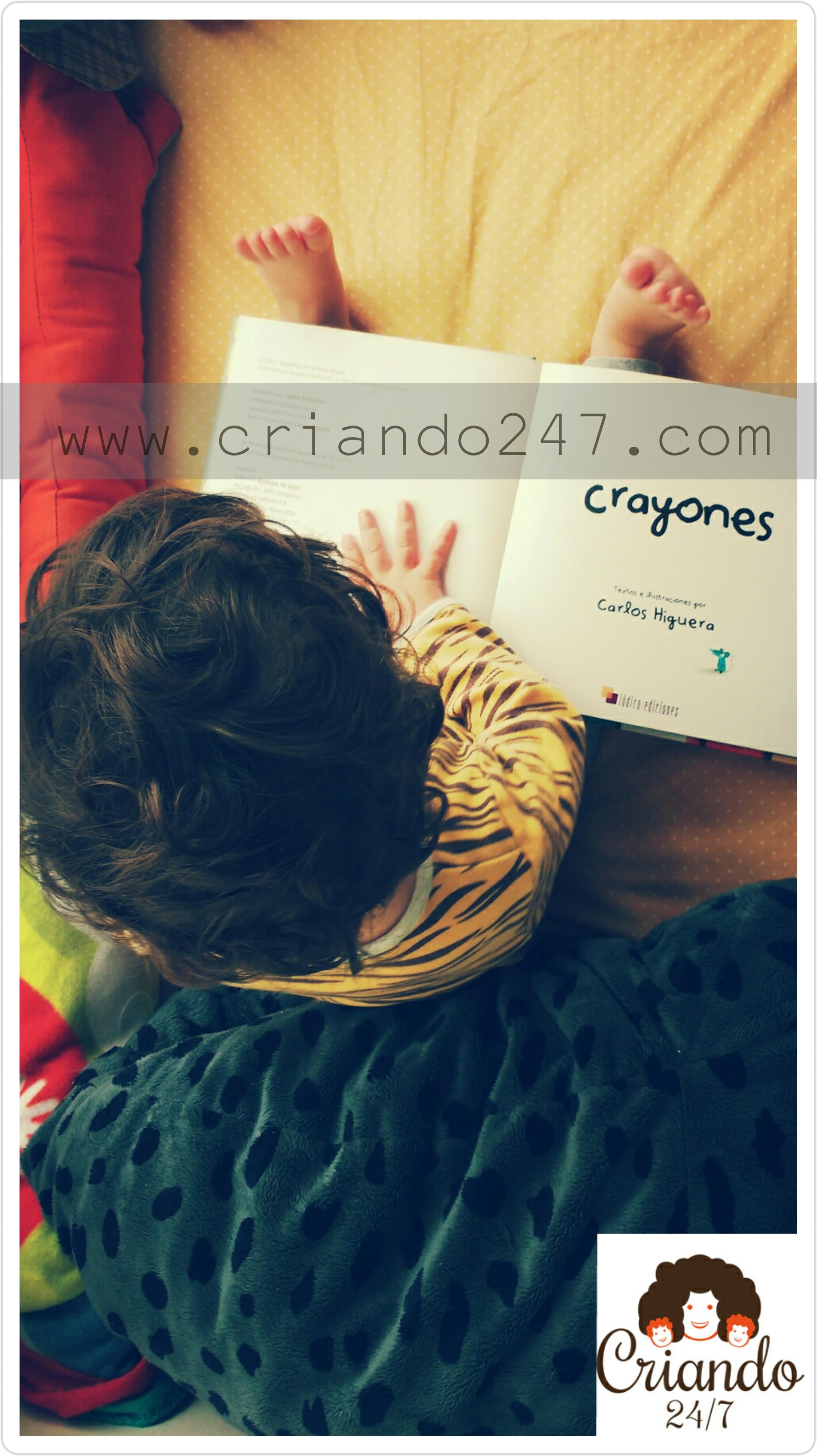 criando247 HoyLeemos Crayones2