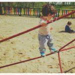#MiercolesMudo #2 #MM Niño de 2 años se ofrece para trapecista (en circo sin animales !)