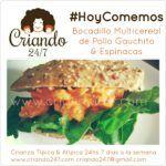 #HoyComemos Bocadillo Multicereal de Pollo Gauchito & Espinacas