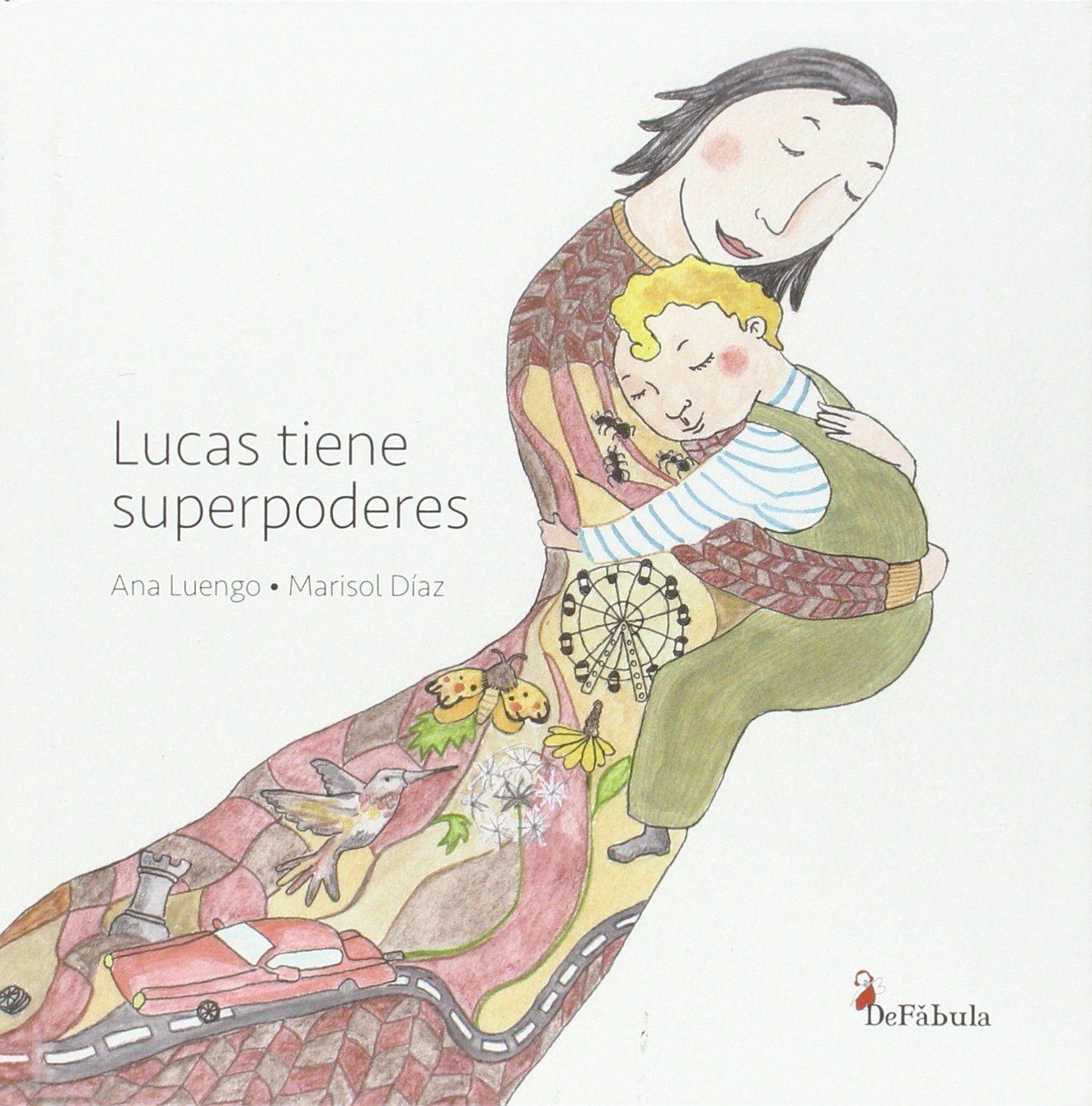 portada del cuento Lucas tiene superpoderes