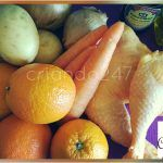 #RecetaFacil Pollo NaranSoja con Patatas & Zanahorias