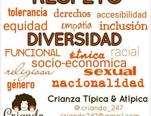 Respeto a la diversidad funcional, éetnica, racial, socio económica, religiosa, sexual de género, nacionalidad. tolerancia, derechos, accesibilidad, equidad, empatía,