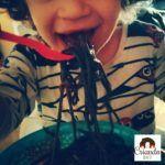 #MiercolesMudo #19 #MM Comiendo fideos terroríficos en Halloween!