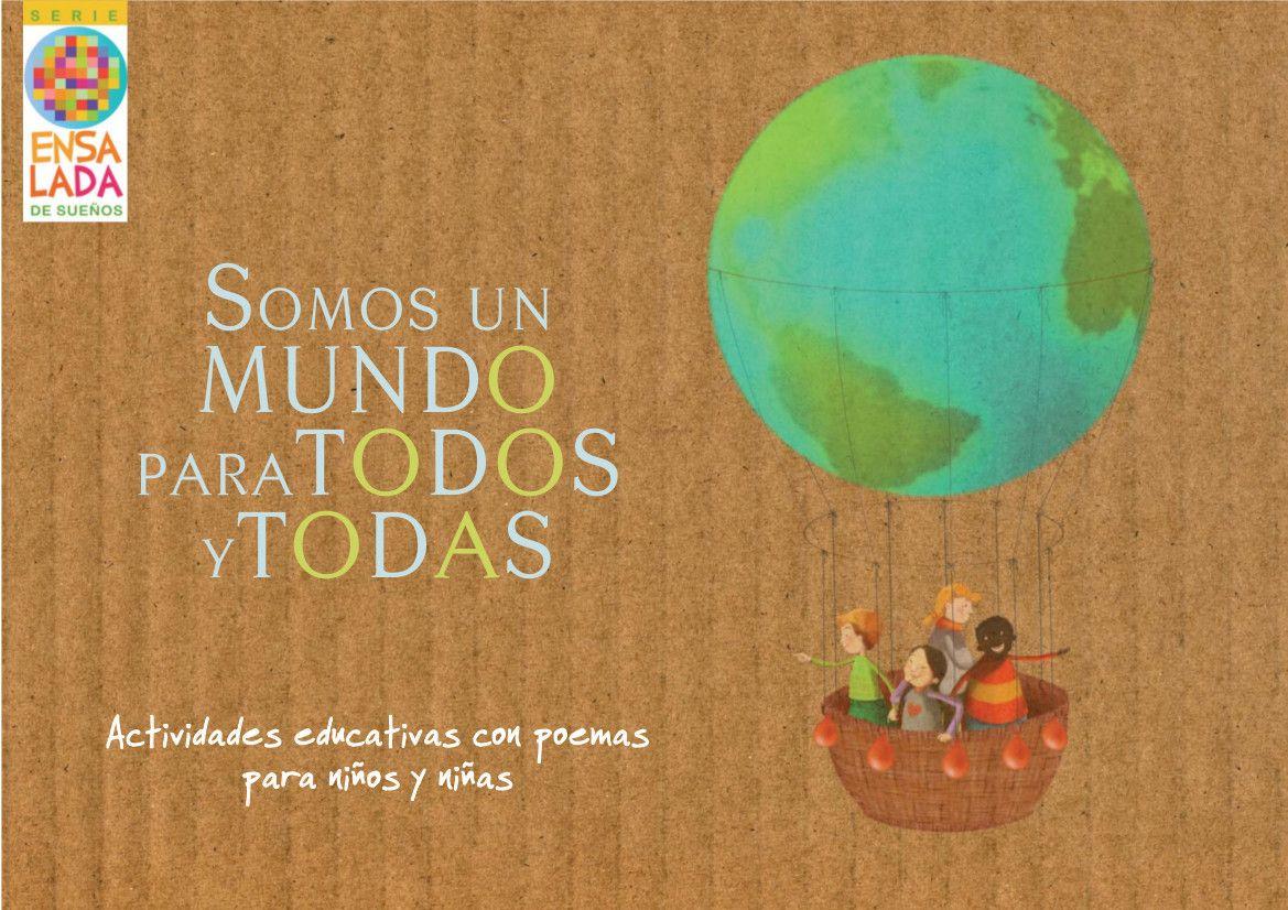 portada del cuento somos un mundo para todos y todas