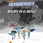 Sale a la luz el Comic de Los Hemihéroes #masqueuncomic