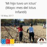 Mi hijo tuvo un ictus! Segunda colaboración para el Blog de Editorial Geu.
