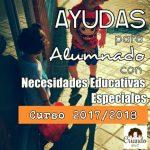 Becas curso 2017/2018   alumnado con necesidades educativas especiales o altas capacidades.