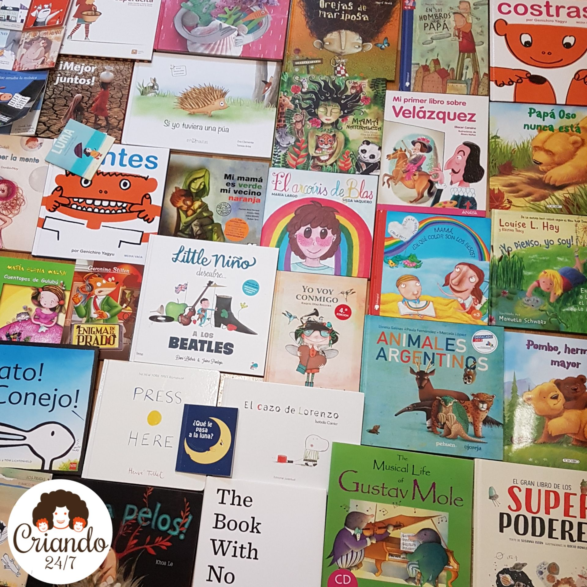 selección de portadas de cuentos infantiles