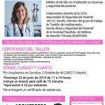 TALLER DE PRIMEROS AUXILIOS PARA FAMILIAS Y PROFESIONALES ¡APÚNTATE!