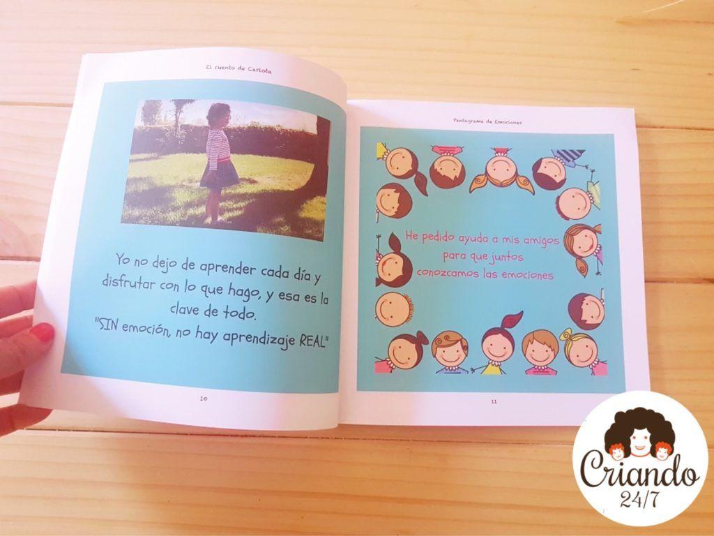 Cuento infantil solidario Pentagrama de Emociones