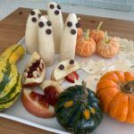 Merienda sana y fácil para #Halloween por TheVeganfitster