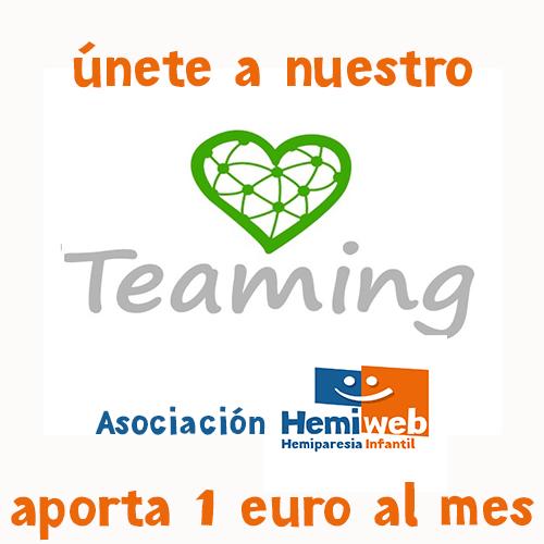 únete a nuestro teaming de la asociación hemiweb