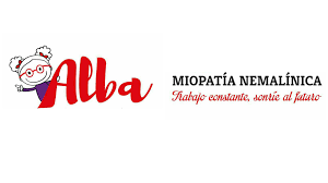 logo de asociación Alba miopatía nemalínica
