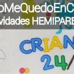 #YoMeQuedoEnCasa Peques con hemiparesia