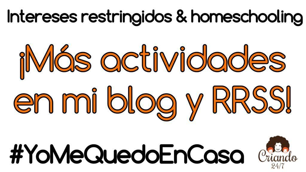 mas actividades en mi blog y rrss