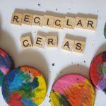 #YoMeQuedoEnCasa Reciclando ceras de colores
