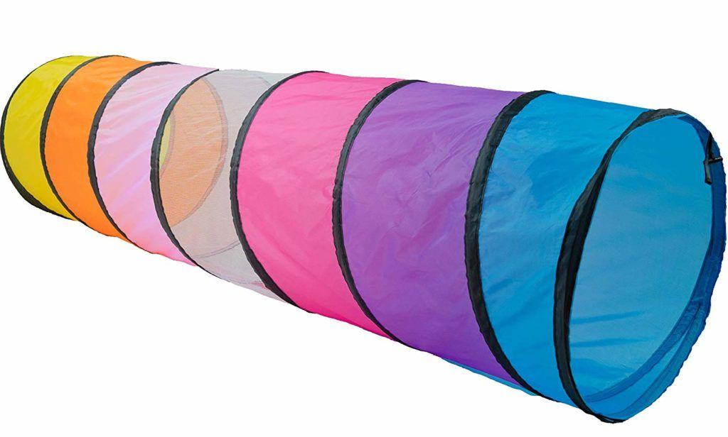 tunel plegable infantil multicolor