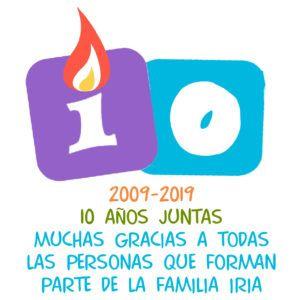 logo Centro Iria 10 años