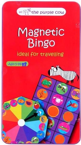 juego de viaje bingo magnético
