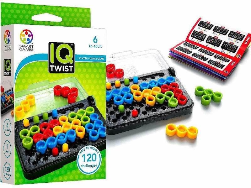 Juego de mesa IQ twist de Smart Games