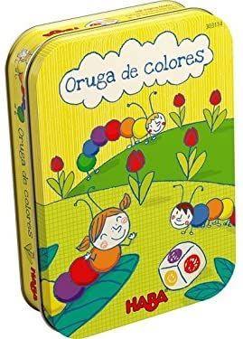juego de mesa Oruga de Colores de Haba