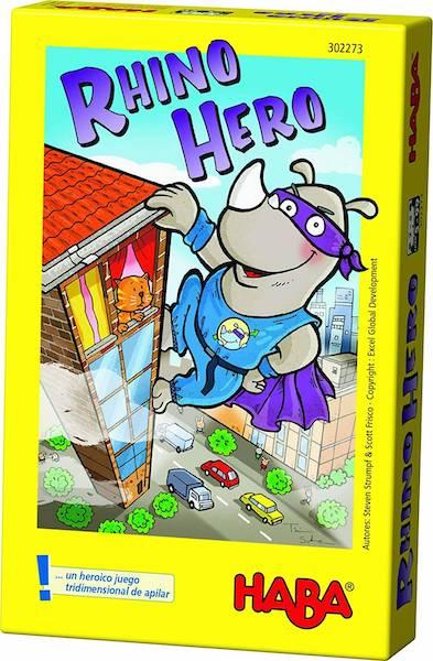 Juego de mesa Rhino Hero de Haba