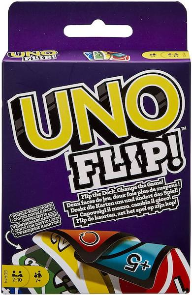 juego de cartas UNO FLIP