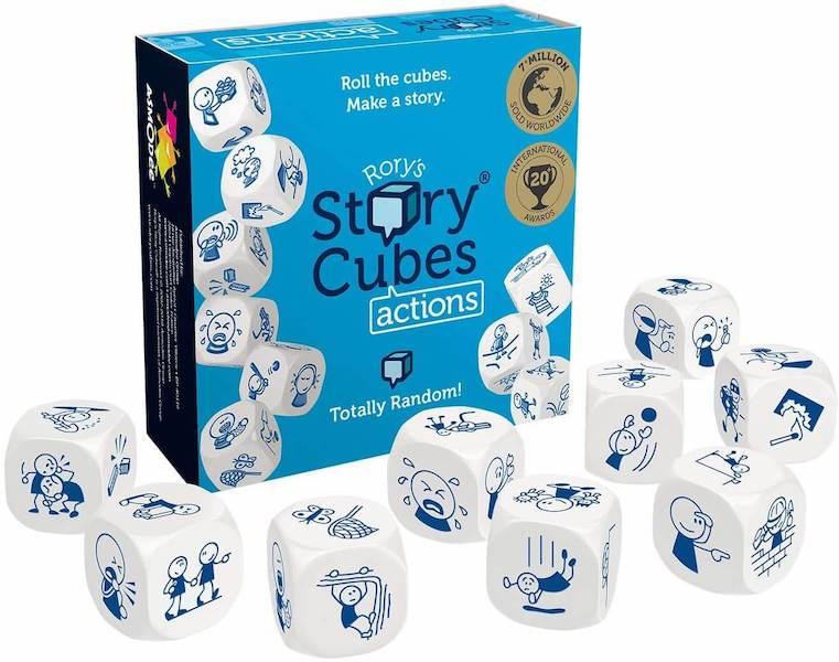 Juego de mesa de cubos Story cubes action