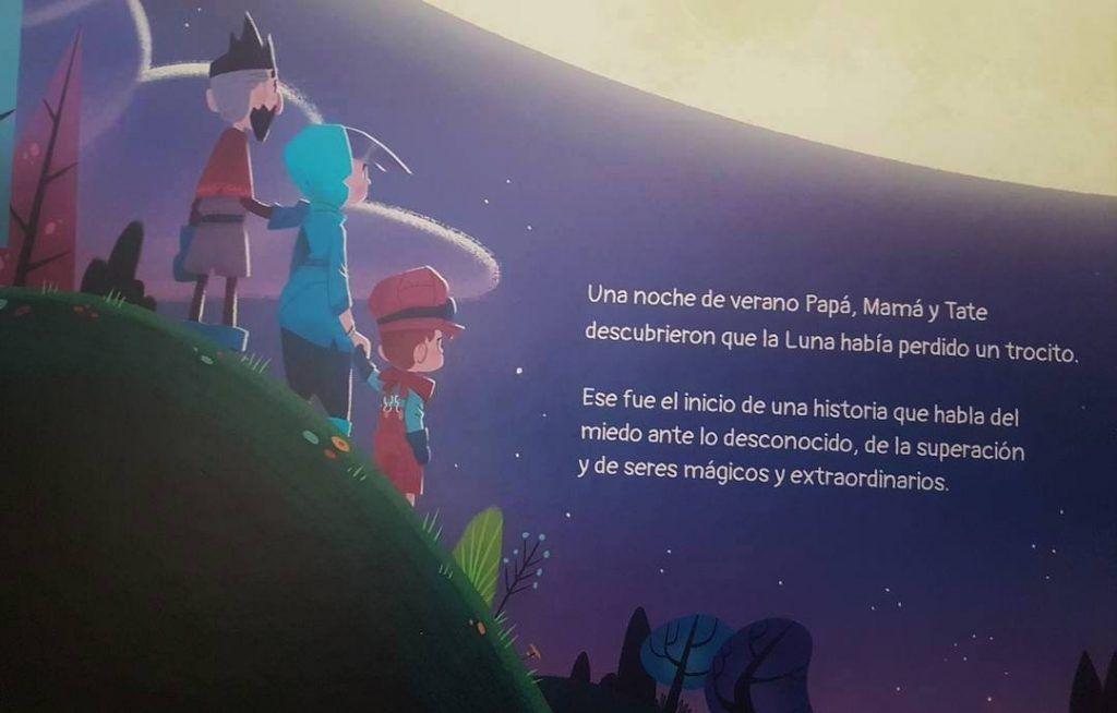 página interior del cuento Cachiro sobre discapacidad infantil
