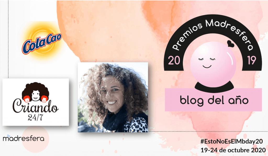 criando 24/7 Blog del Año Premios Madresfera 2019