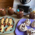 #CocinaConPeques Recetas fáciles con pictogramas para Halloween con Thermomix.