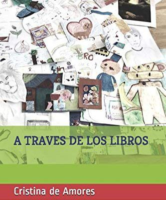 """portada del libro """"a través de los libros"""""""
