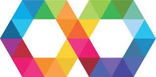 logo autismo. Infinito multicolor