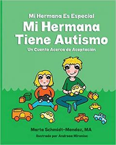 portada del cuento Mi hermana tiene autismo