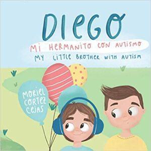 Portada del cuento Diego mi hermanito con autismo