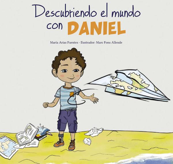 portada del cuento descubriendo el mundo con Daniel