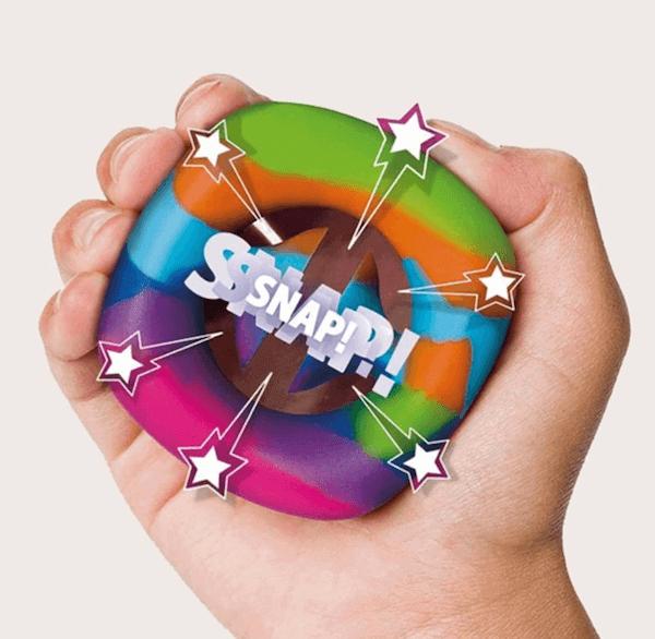 fidget de silicona snap